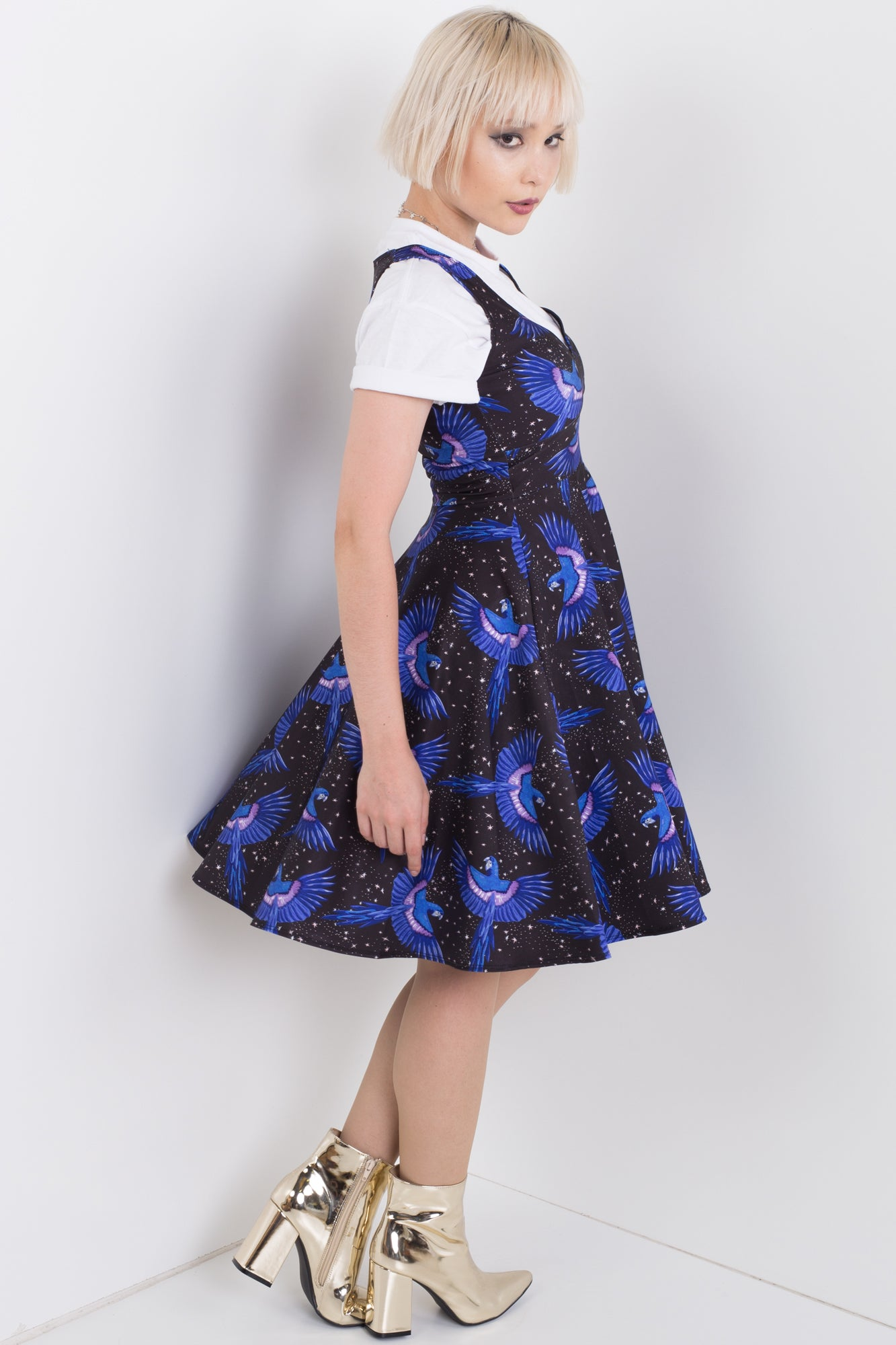 Night Bird Midi Happy Hour Dress