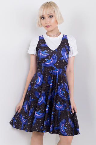 Black Midi Happy Hour Dress