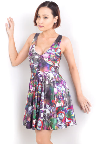 Aliens Stay Weird Happy Hour Dress