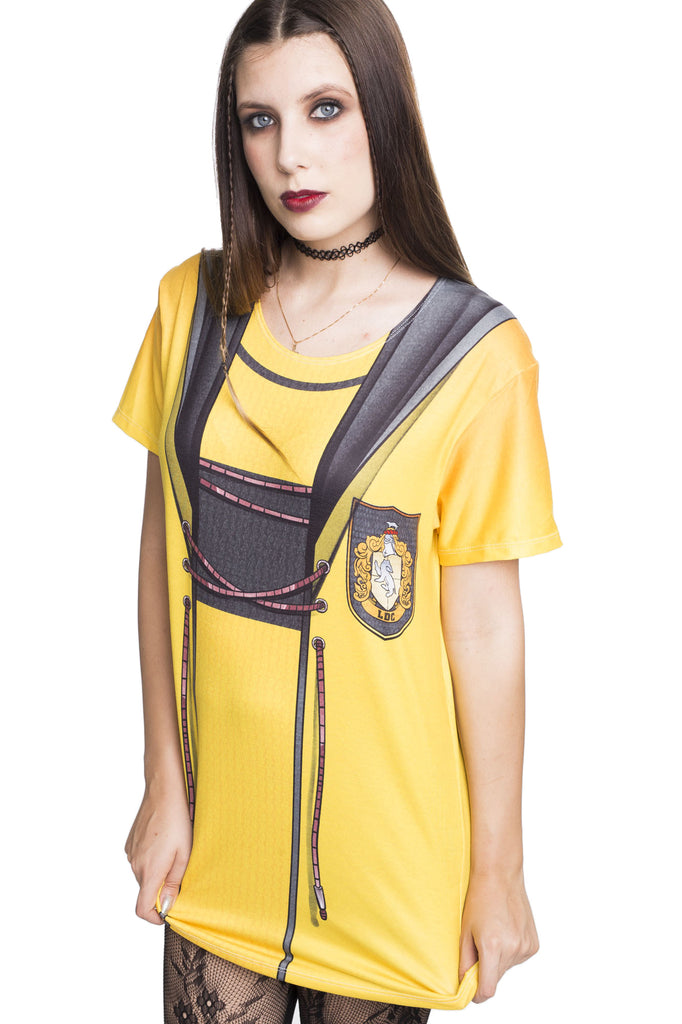 Hufflepuff Quidditch Cosplay Tee - MADE TO ORDER