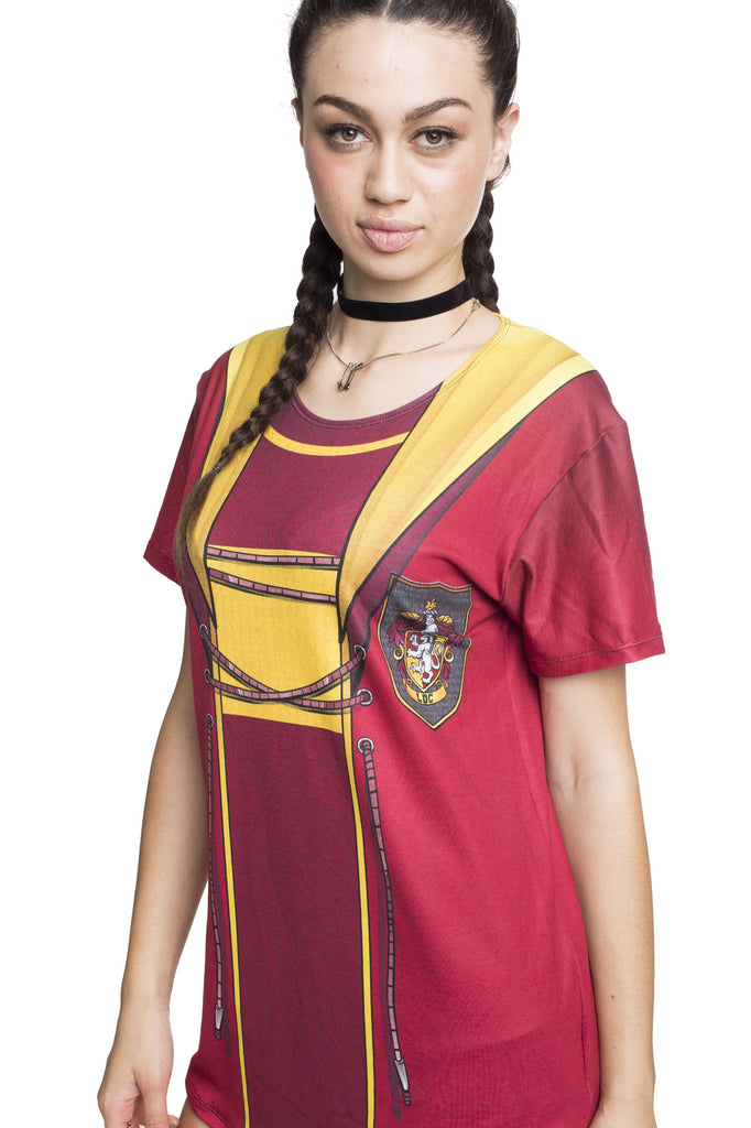 Gryffindor Quidditch Cosplay Tee - MADE TO ORDER