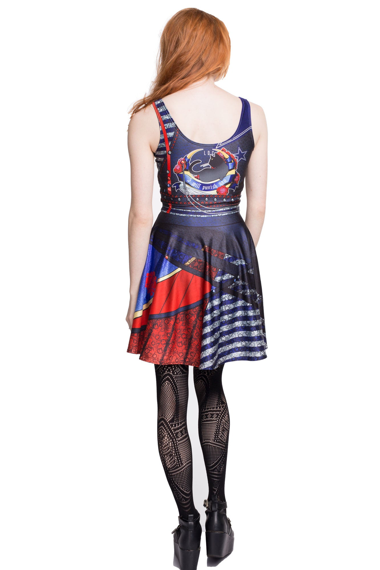 Moon Punk Skater Dress
