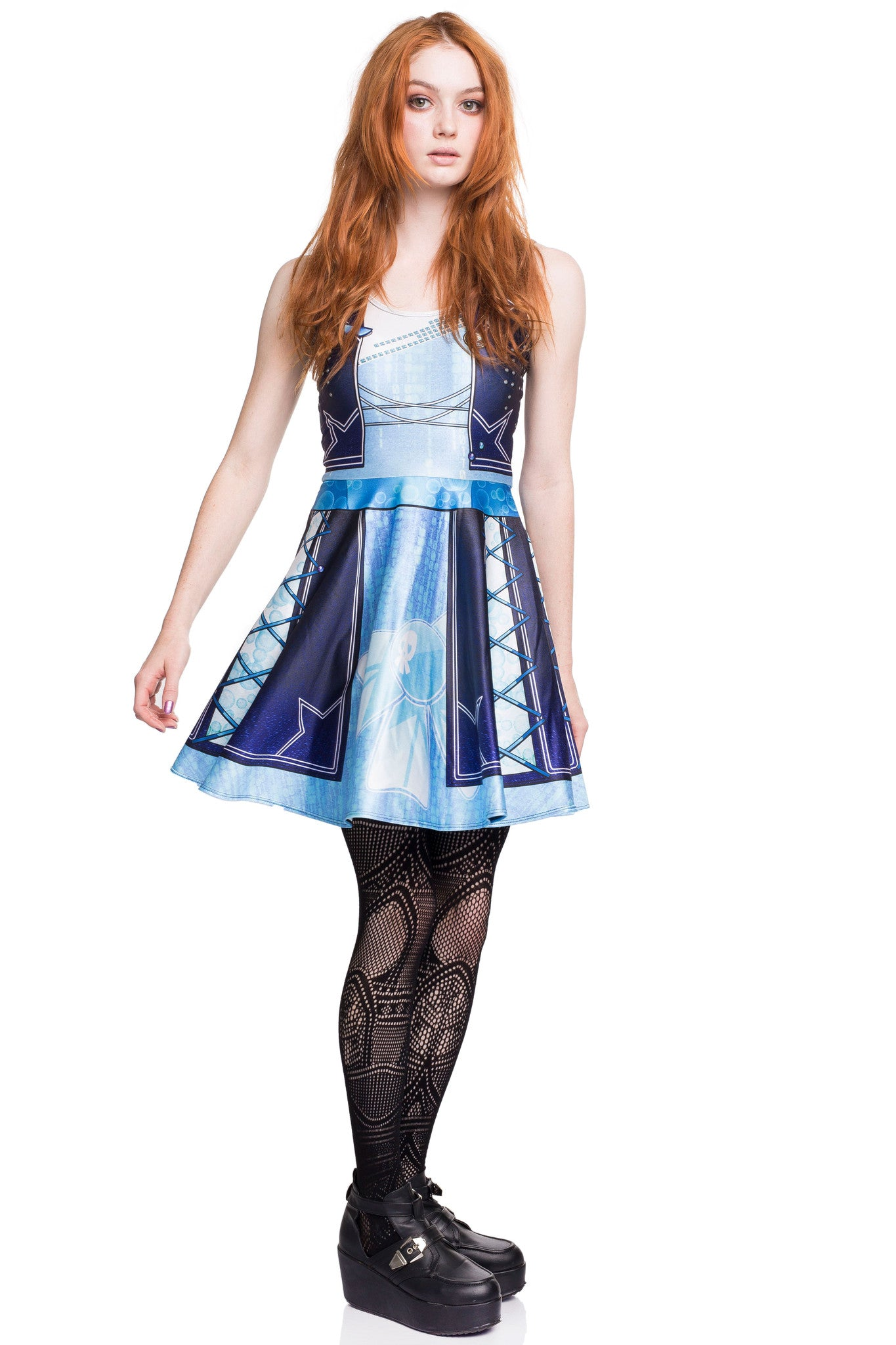 Mercury Punk Skater Dress