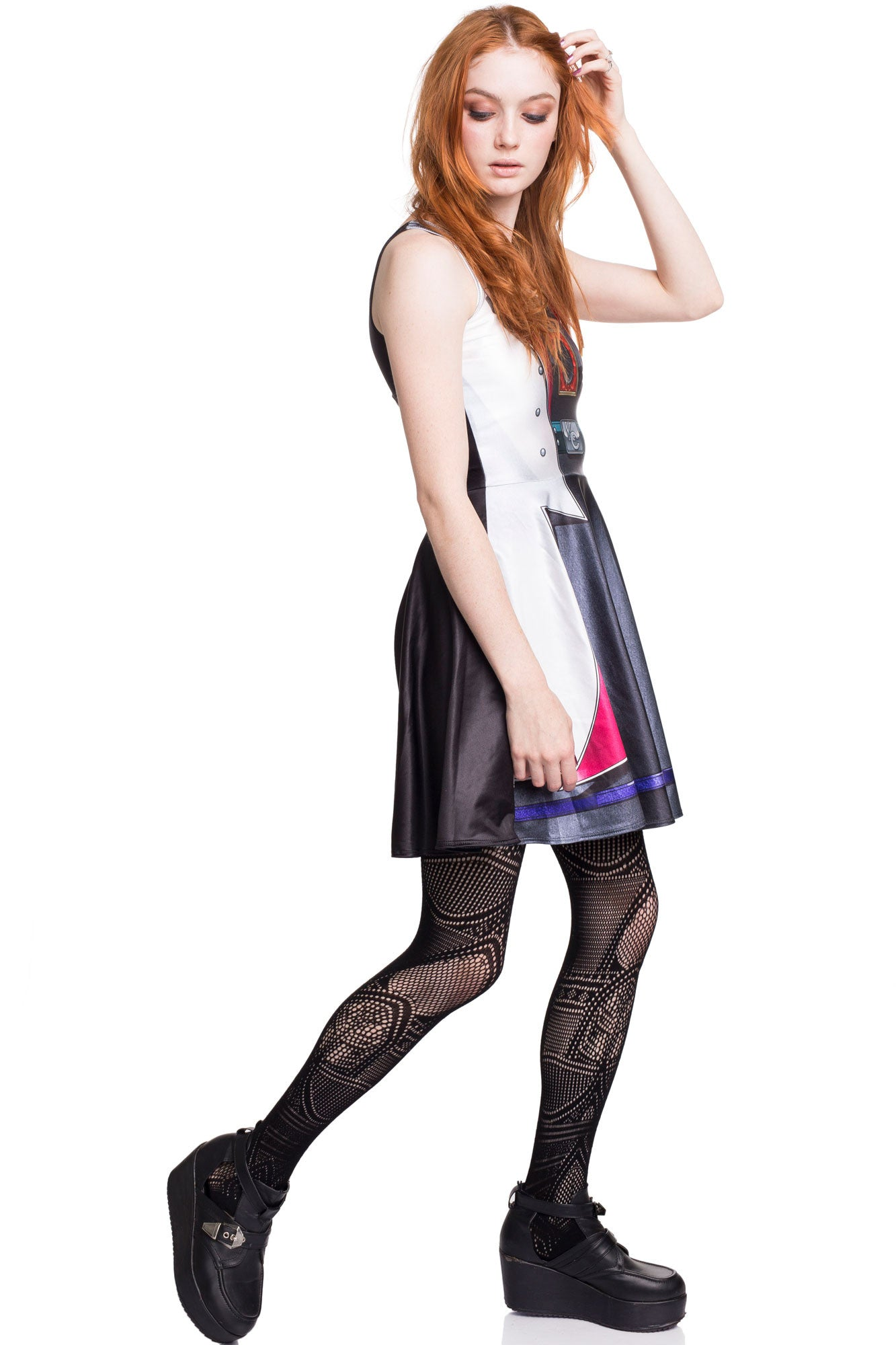 Kaiba Cosplay Skater Dress