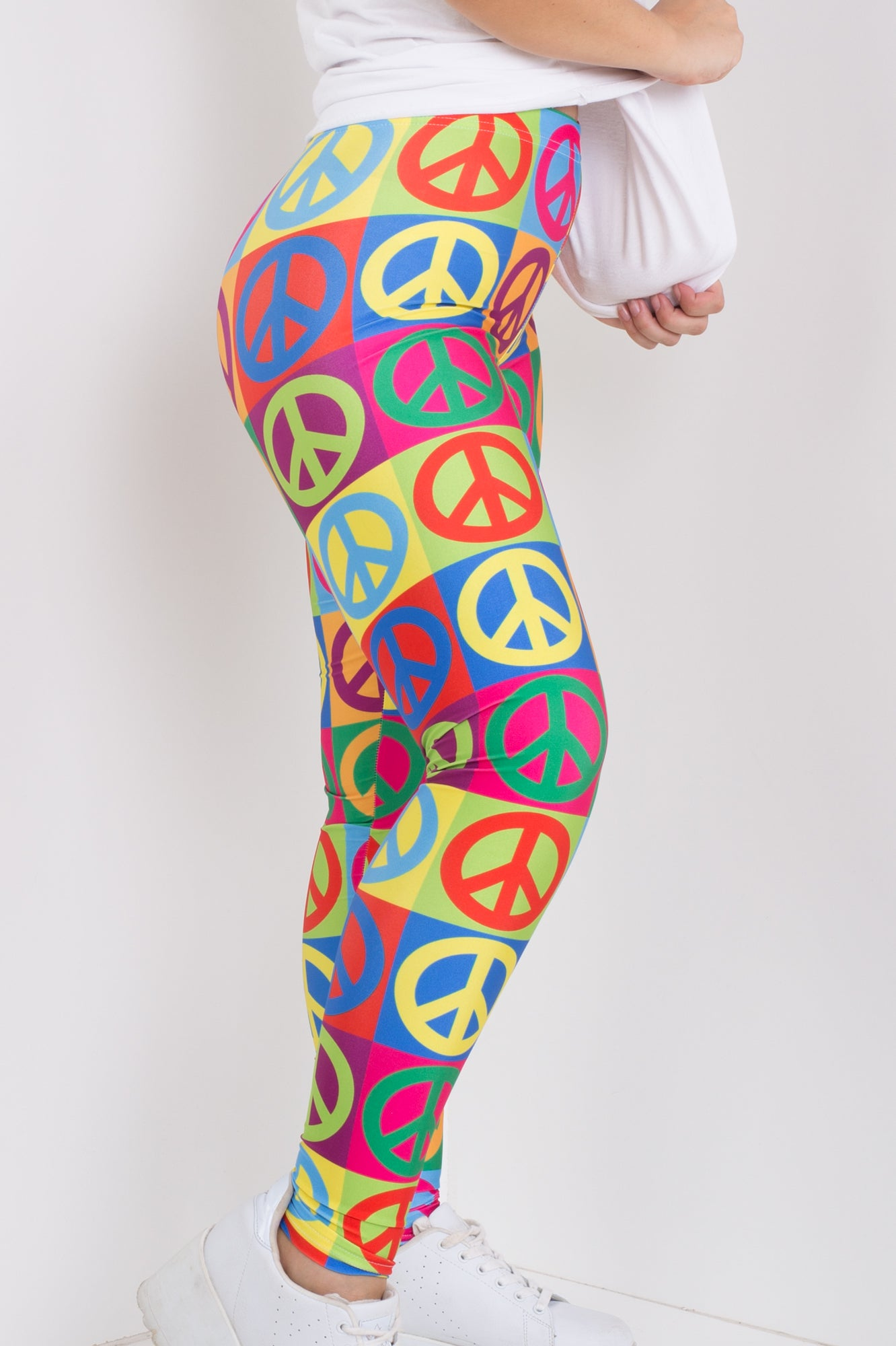 Peace Man Leggings