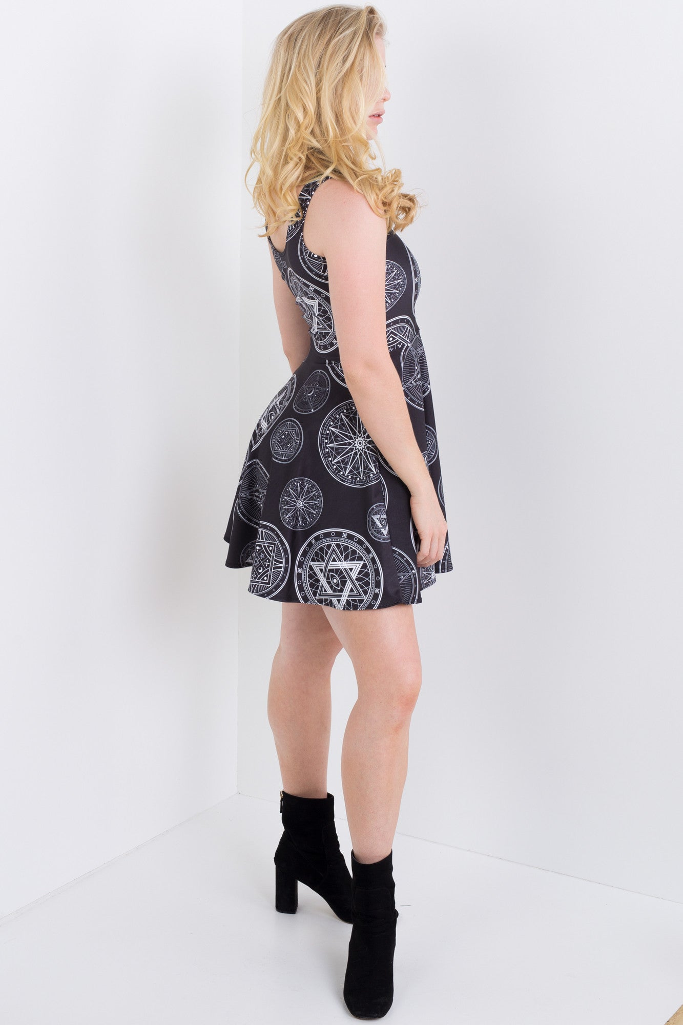 Pentacle Skater Dress