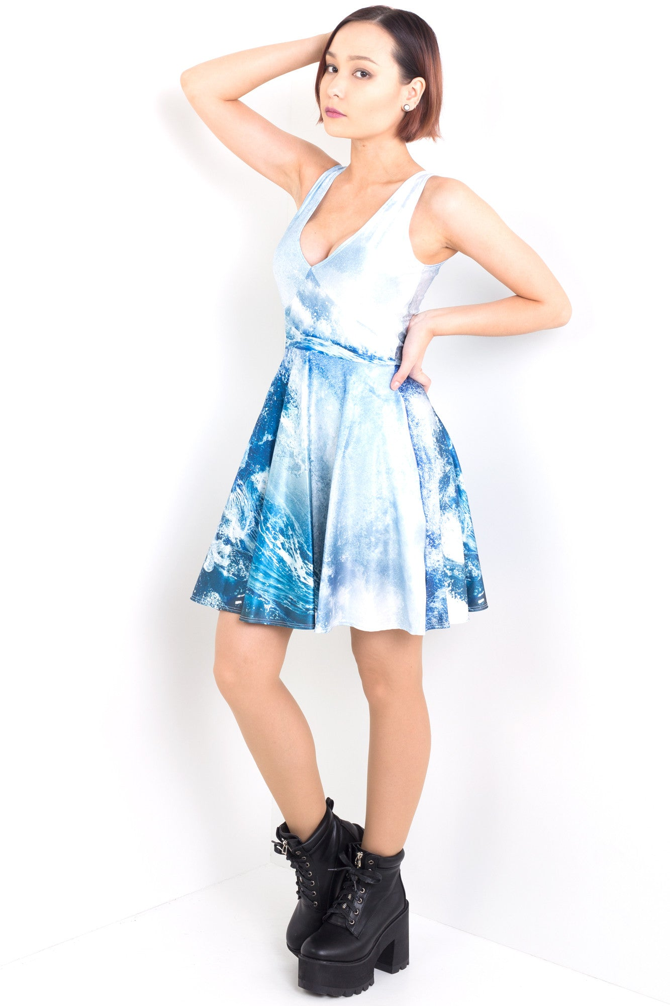 Power Of The Ocean Pocket Happy Hour Dress