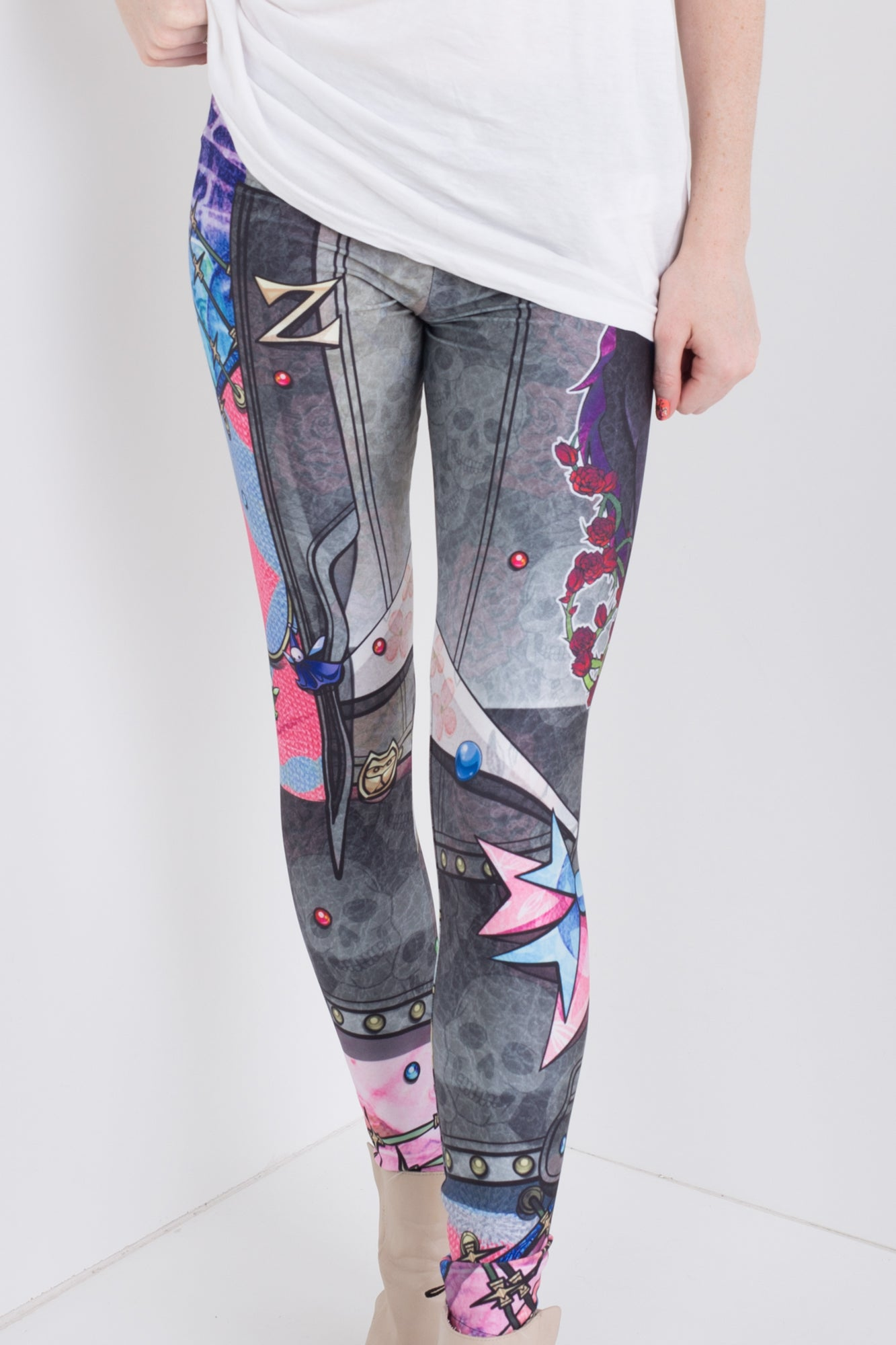 Punk Aurora Leggings