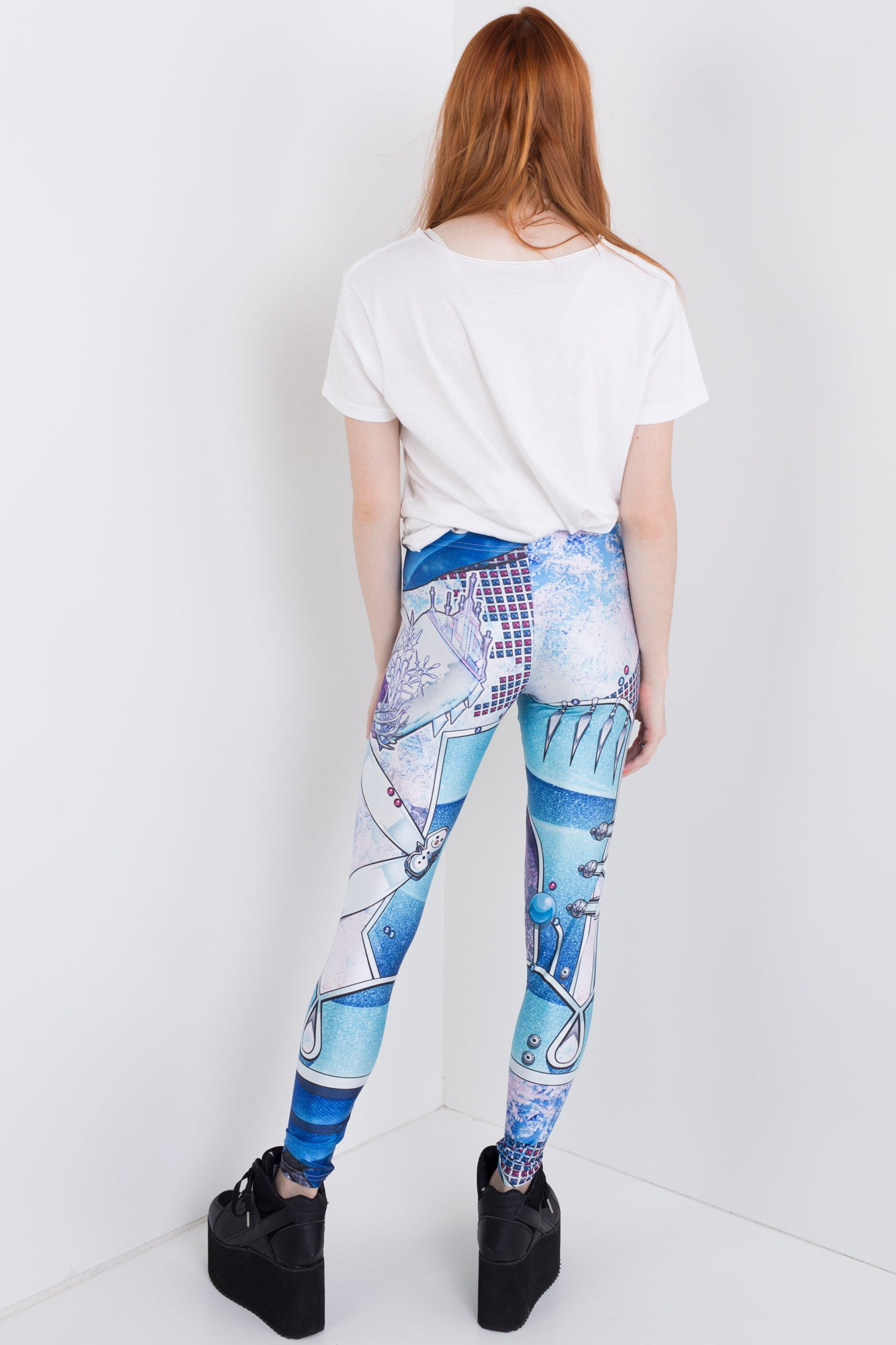 Punk Elsa Leggings