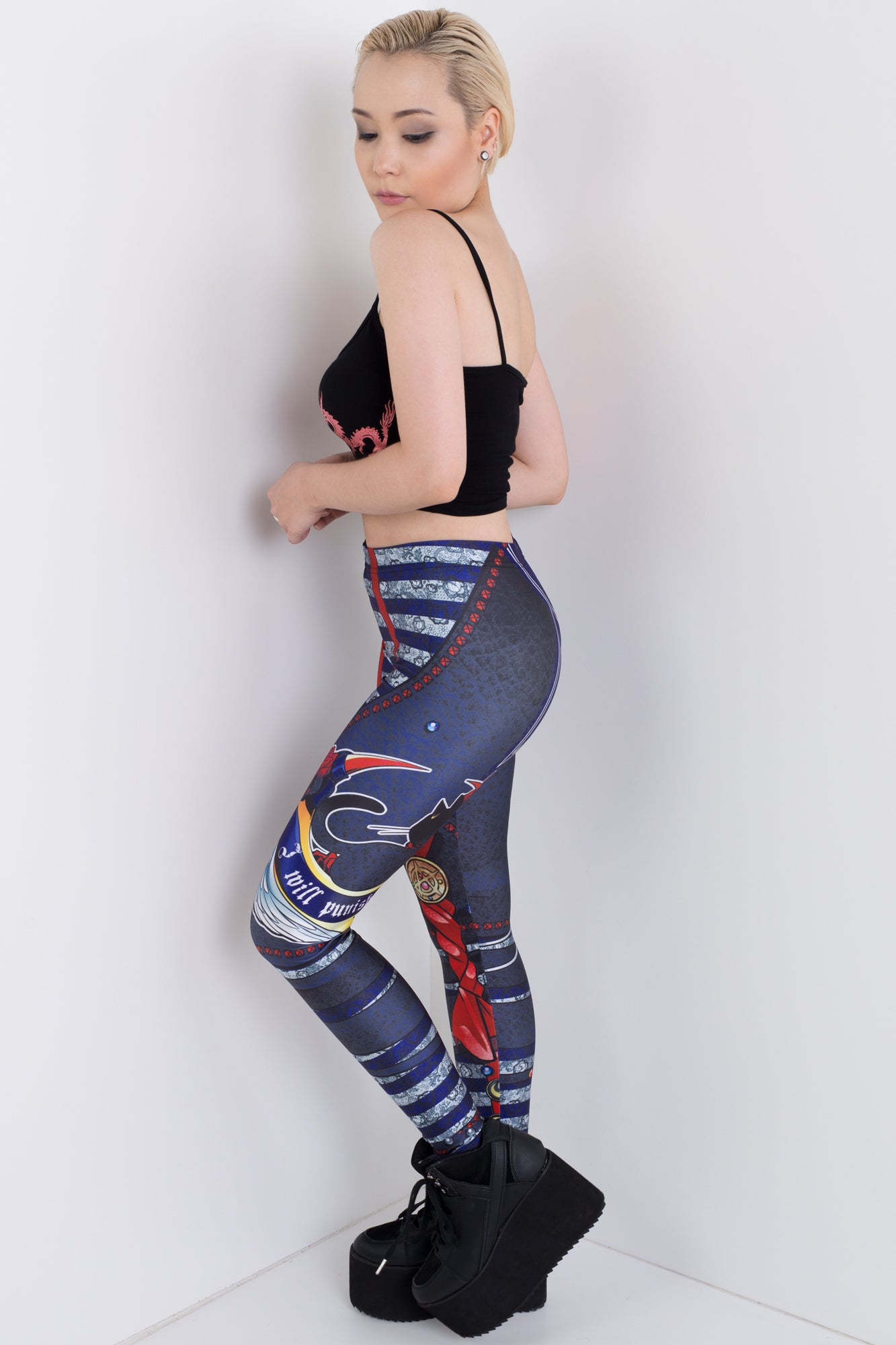 Punk Moon Leggings