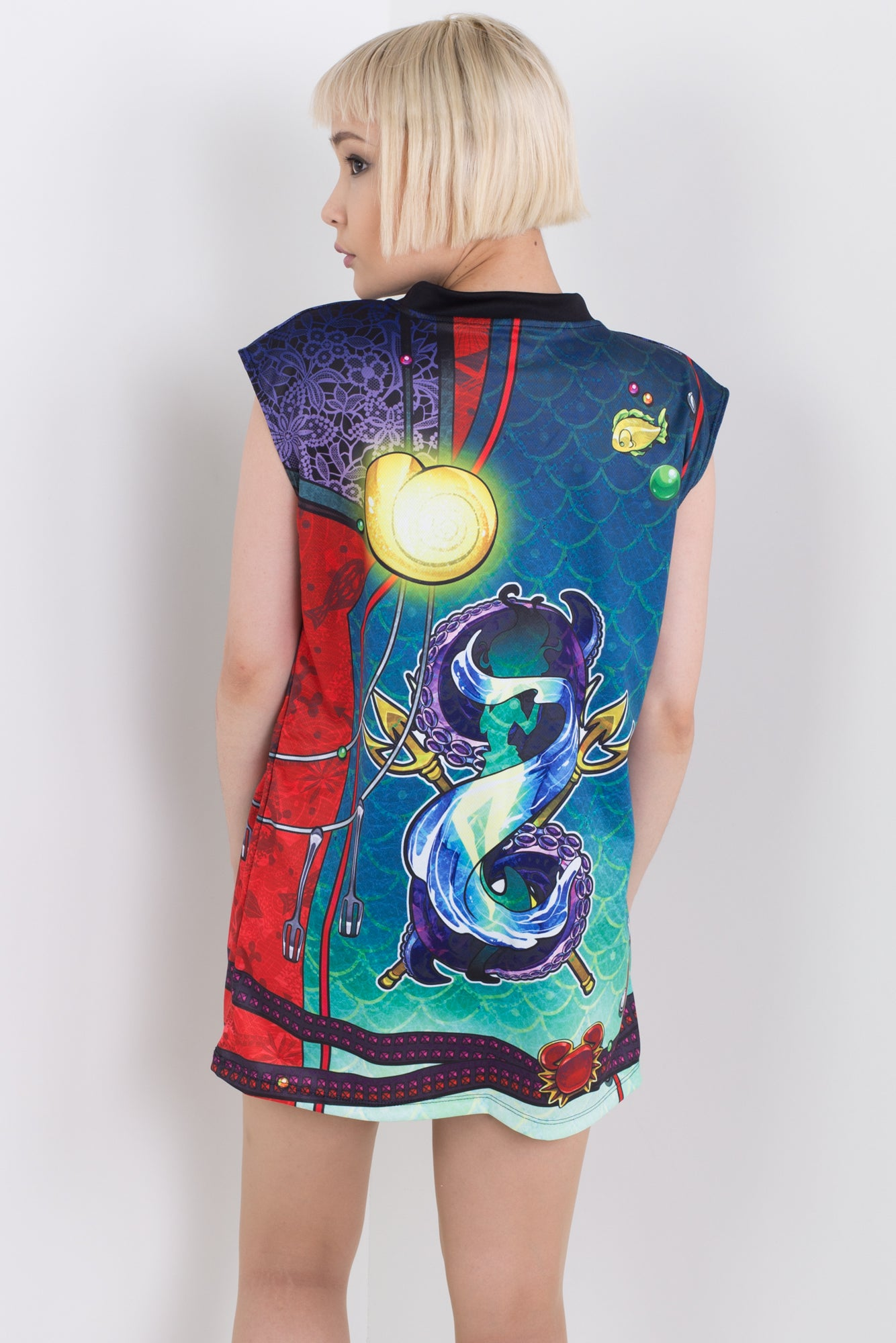 Punk Princess Ariel Sleeveless Hail Mary