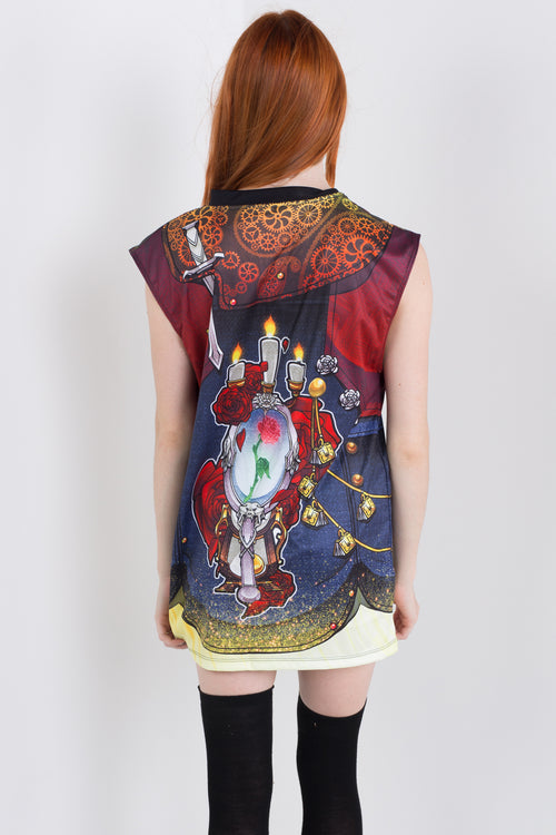 Punk Princess Belle Sleeveless Hail Mary