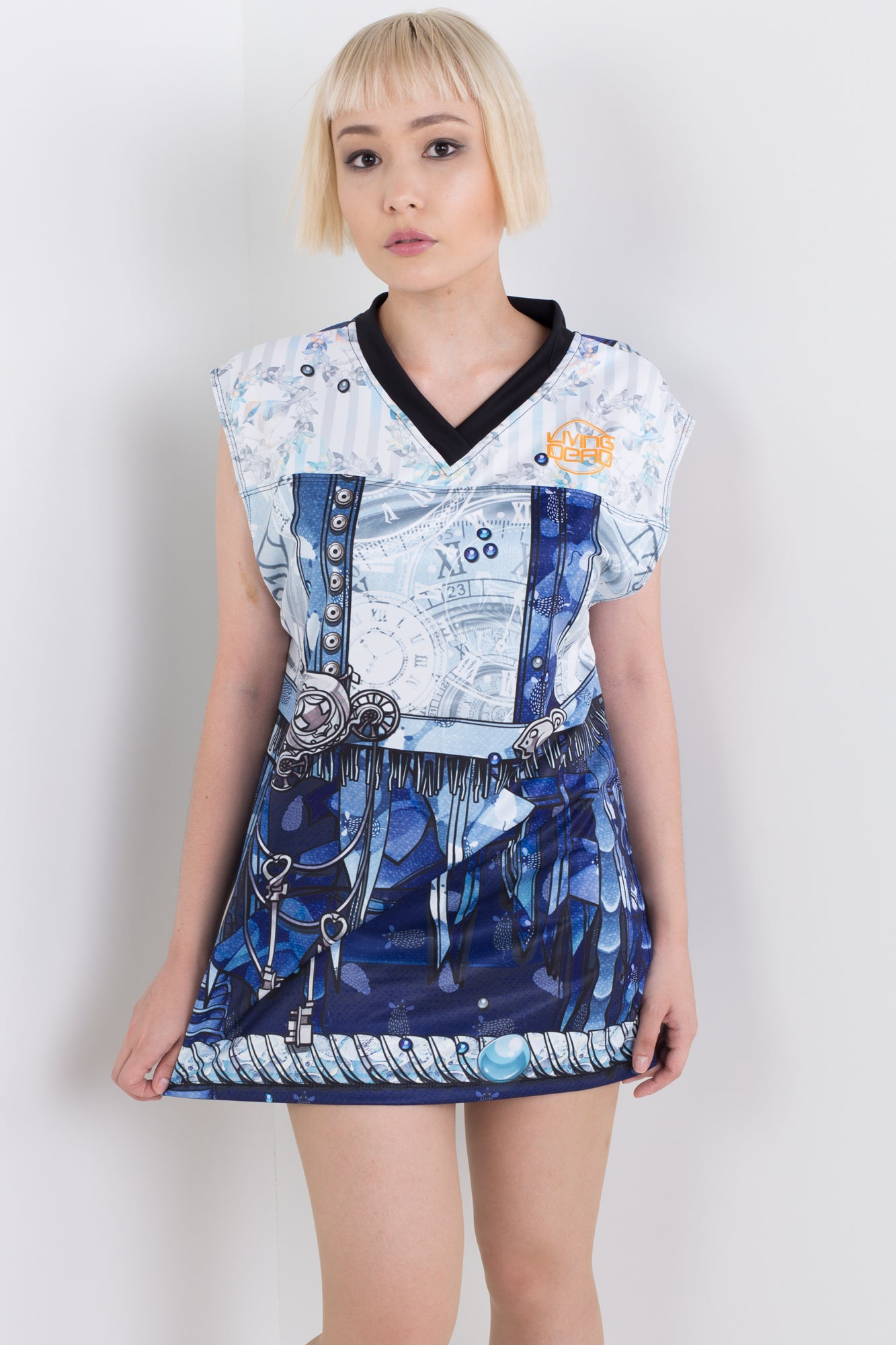 Punk Princess Cinderella Sleeveless Hail Mary