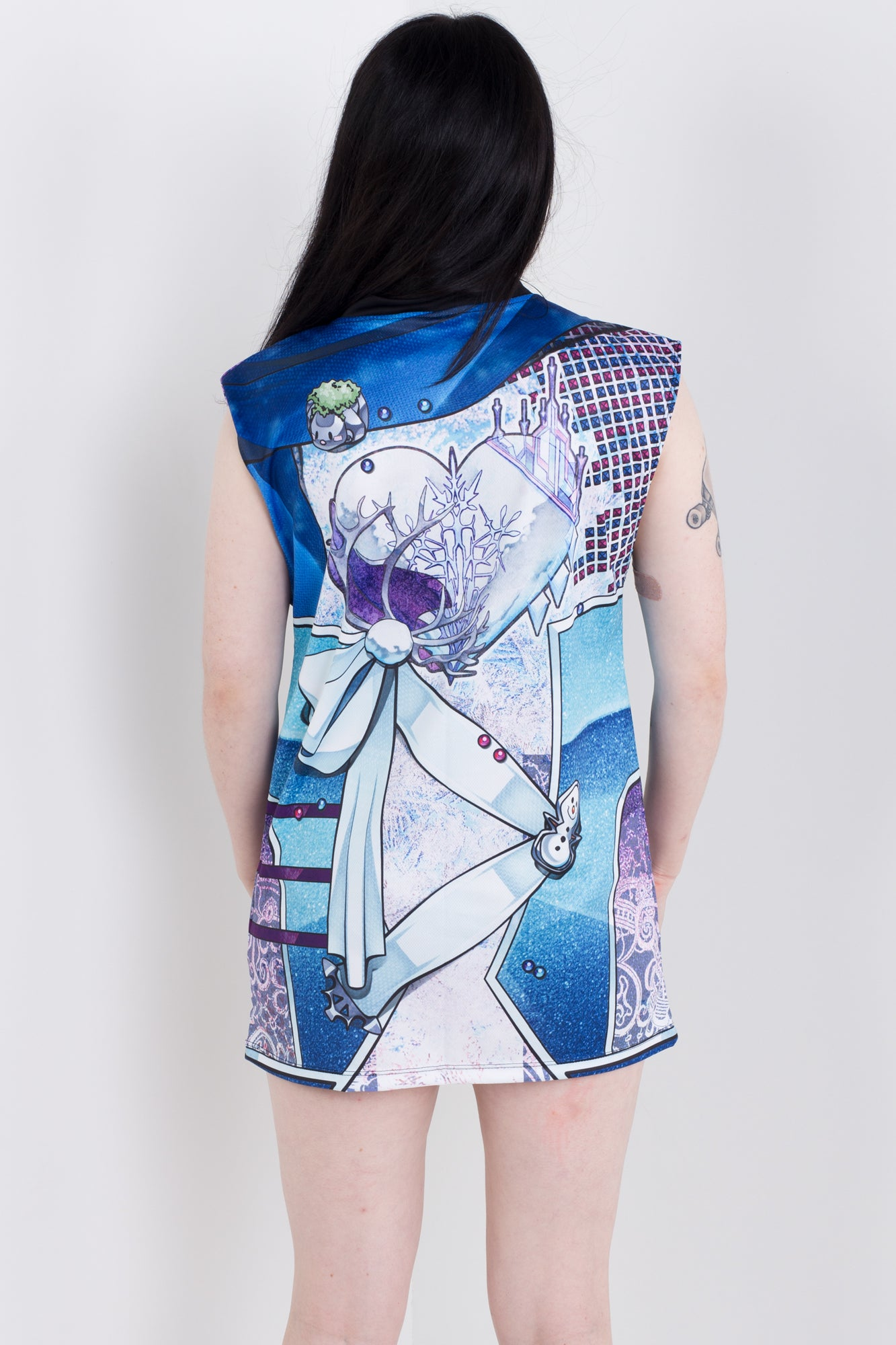 Punk Princess Elsa Sleeveless Hail Mary