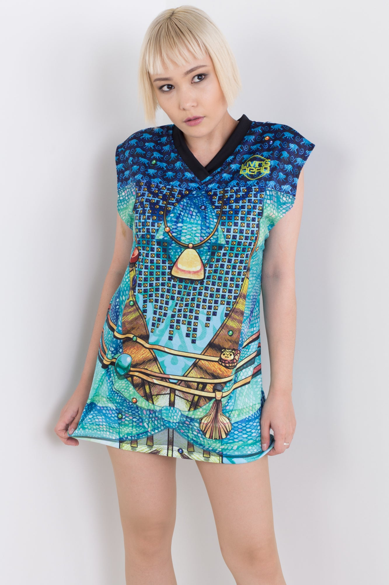 Punk Princess Jasmine Sleeveless Hail Mary