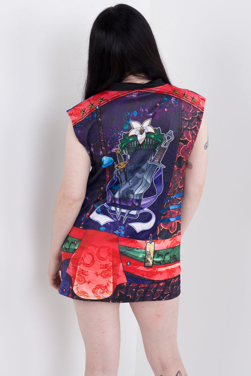 Punk Princess Mulan Sleeveless Hail Mary