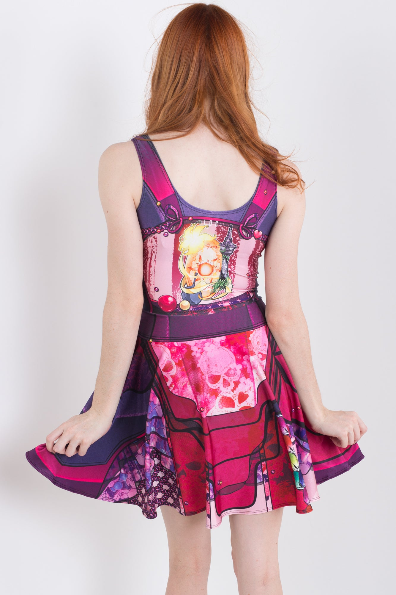 Punk Princess Rapunzel Skater Dress