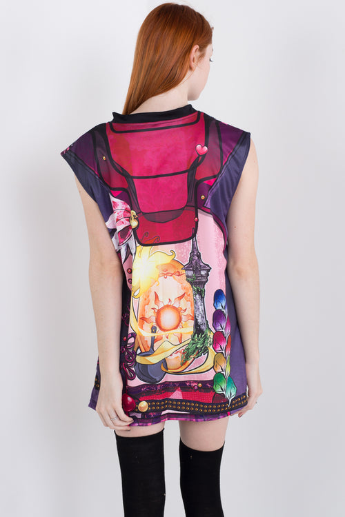 Punk Princess Rapunzel Sleeveless Hail Mary