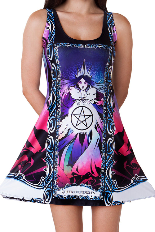 Queen of Pentacles A-Line Dress