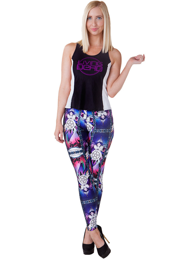 Queen of Pentacles Leggings