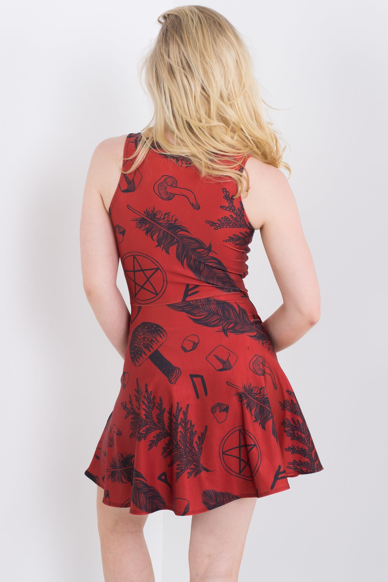 Ruby Witch Pocket Happy Hour Dress