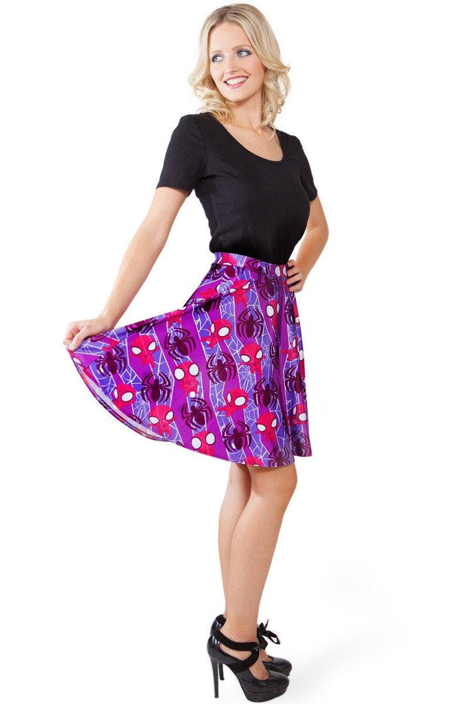 Chibi Spider-Man Skater Skirt