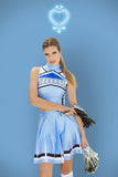Sailor Mercury Cosplay Cheerleader Uniform - LIMITED