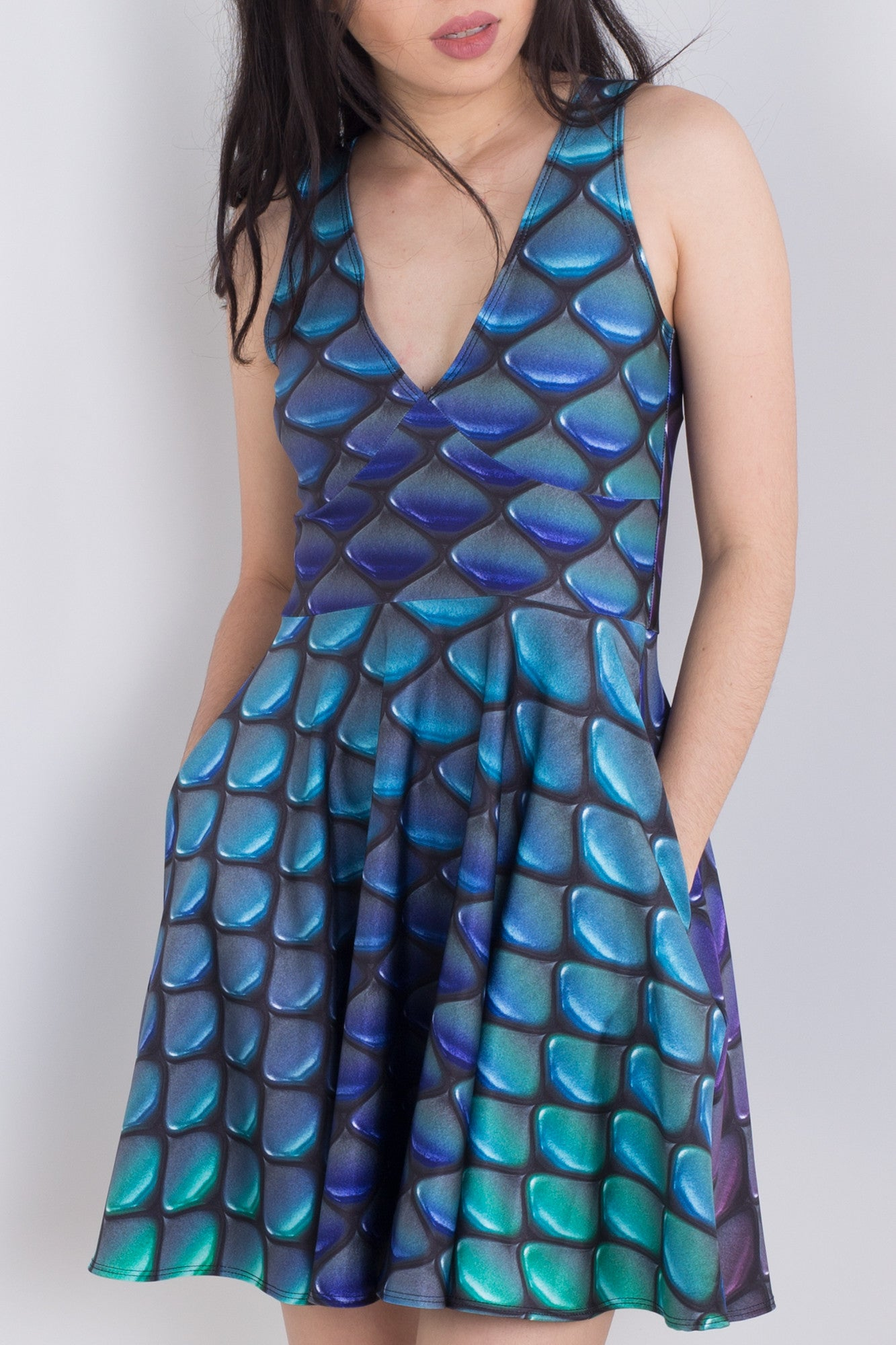 Scales For Days Pocket Happy Hour Dress