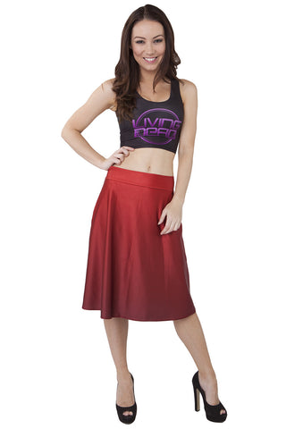 Catstooth Midi Skirt