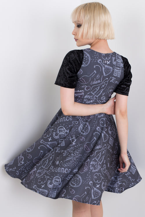 Science Nerd Midi Vogue Dress