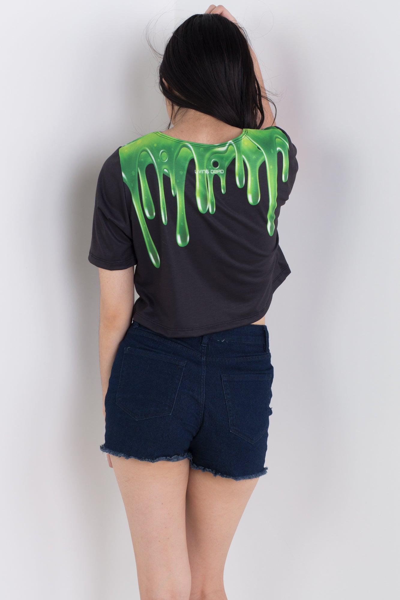 Slime Monster Tee Crop