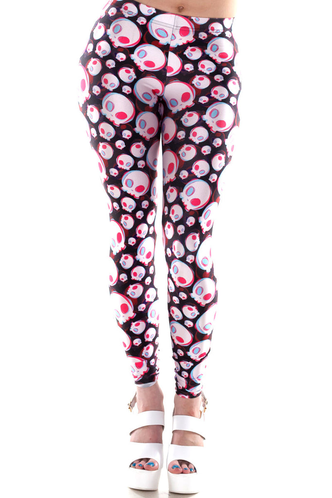 Sour Skull Leggings - LIMITED