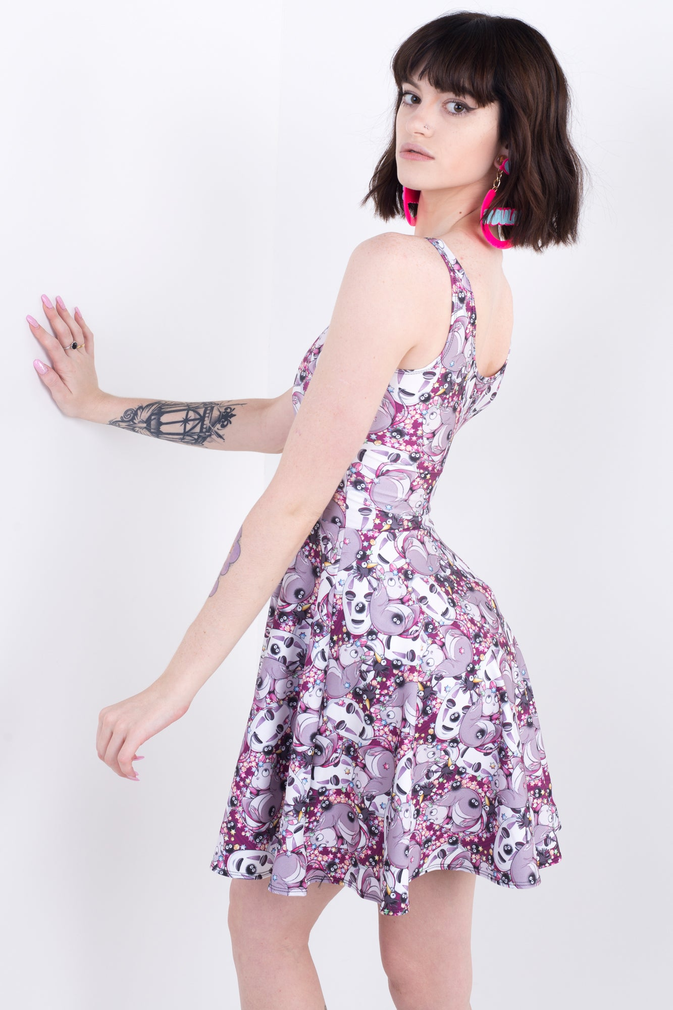 Spirited Away Characters Skater Dress