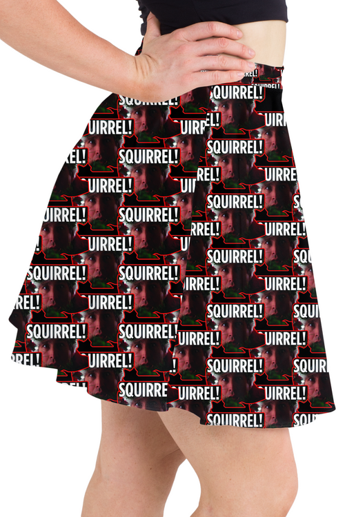 Squirrel Skater Skirt
