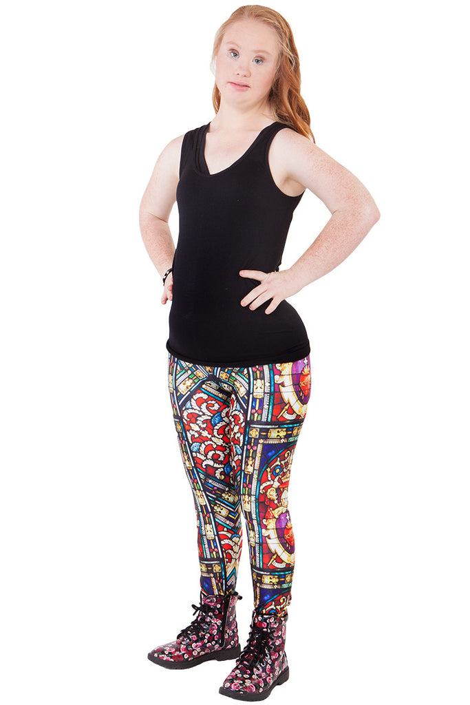 Stained Glass Leggings - LIMITED