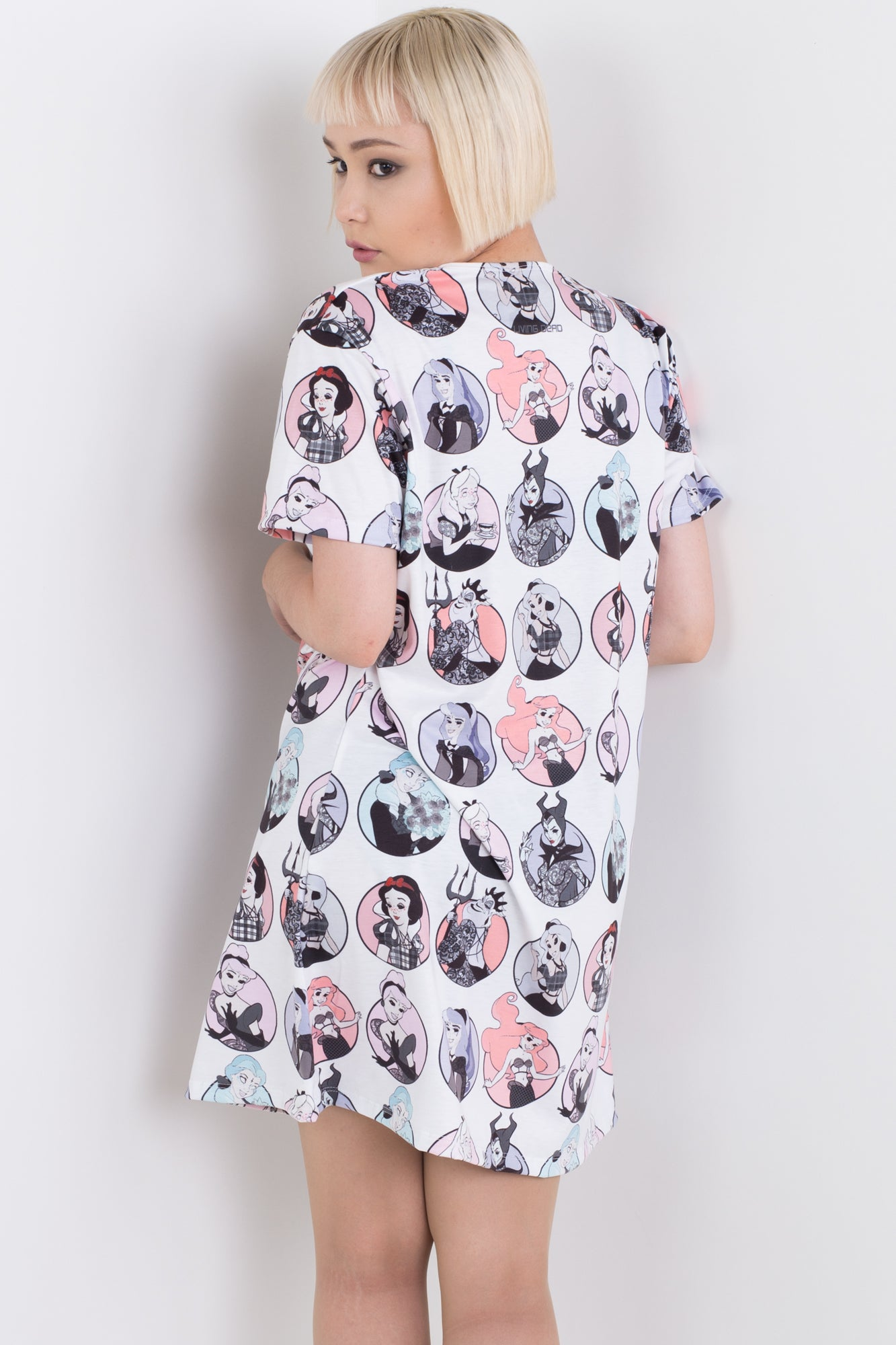 Sticker Tee Dress