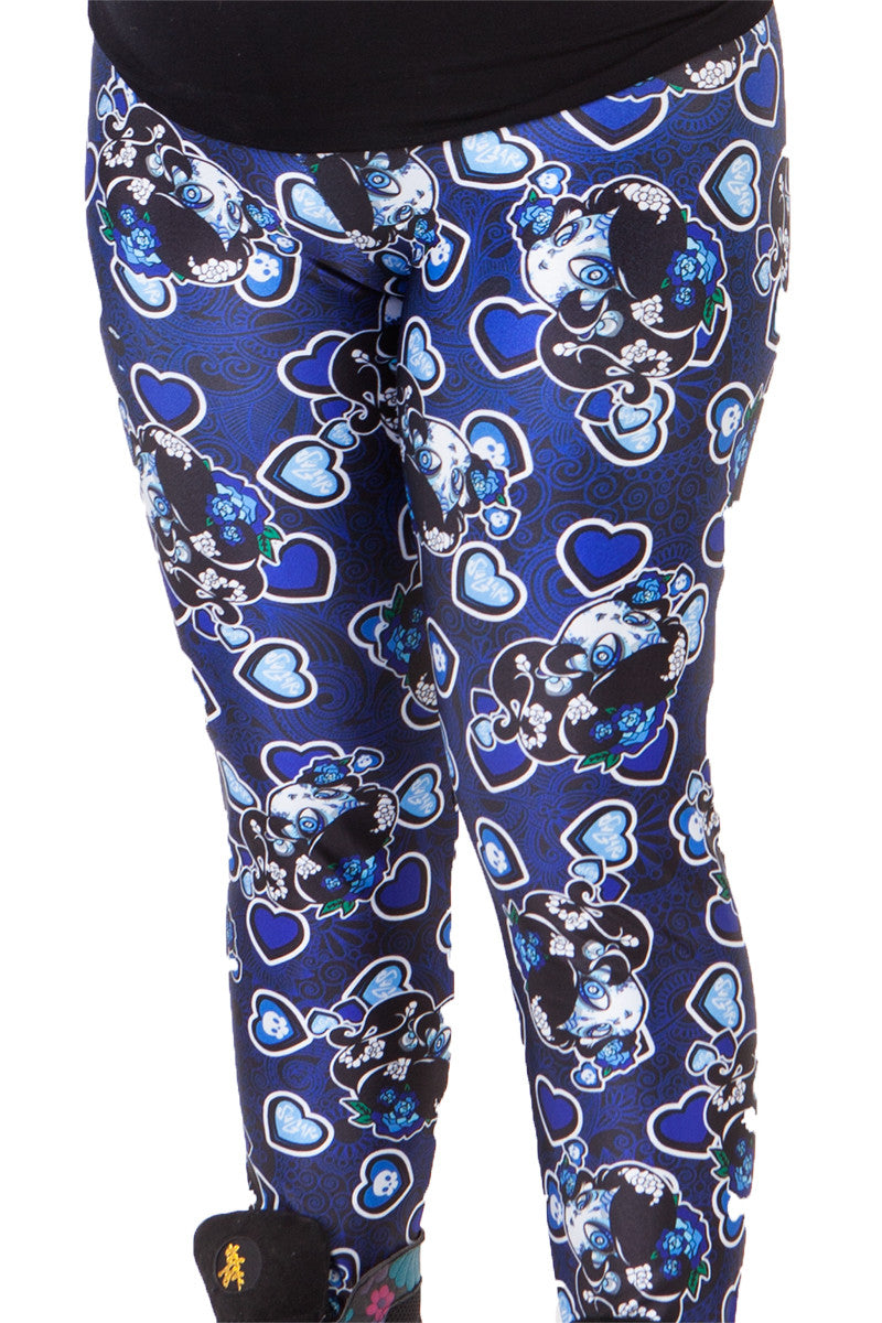 Sugar Skulls Leggings - LIMITED