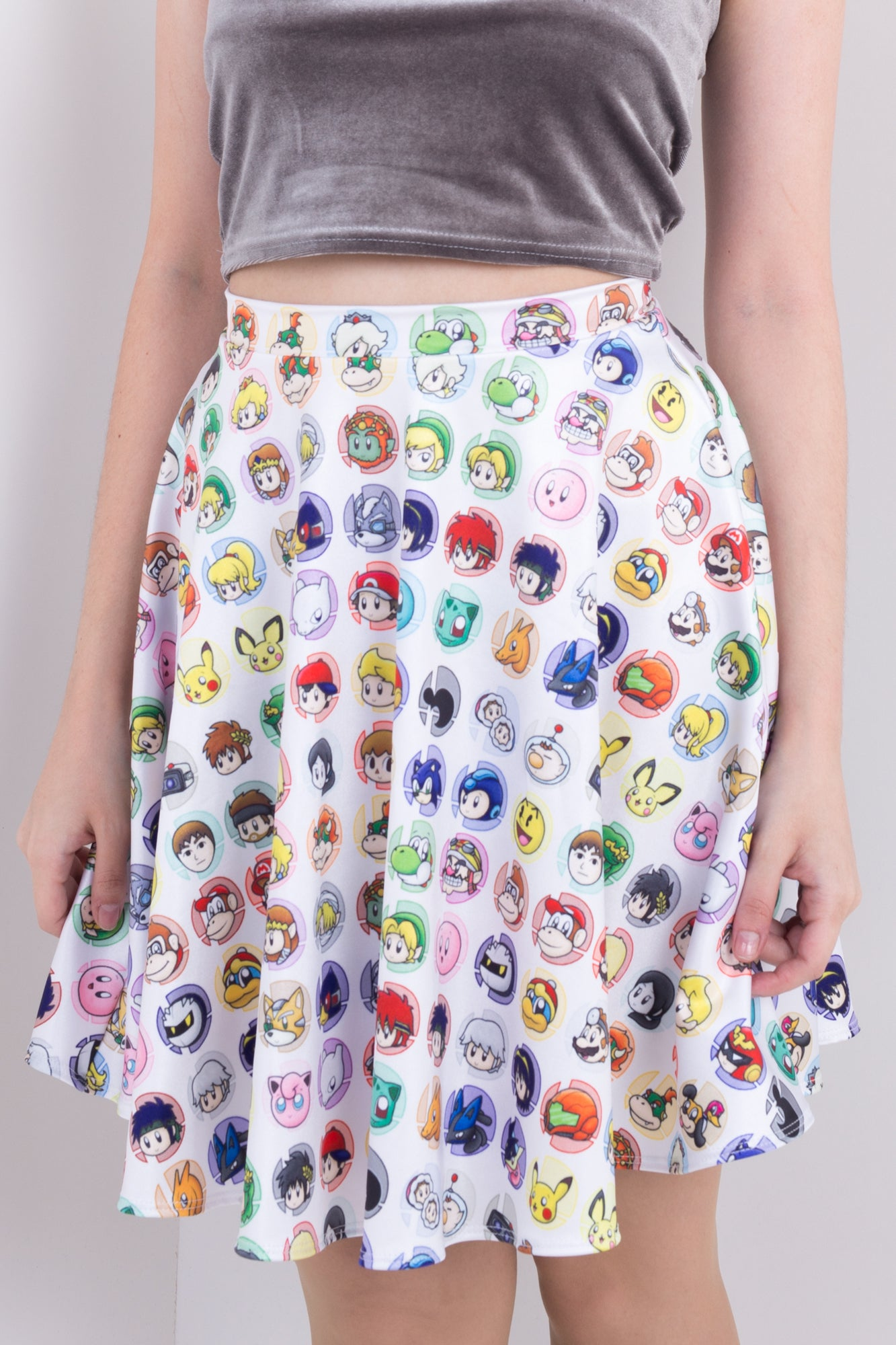 Super Smash Bros Skater Skirt