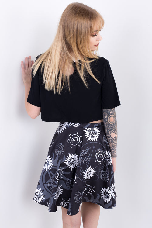 Supernatural Skater Skirt