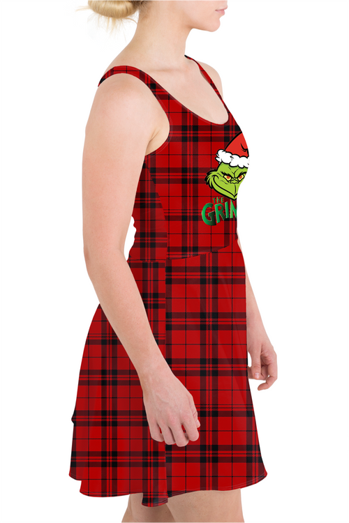 The Grinch Skater Dress