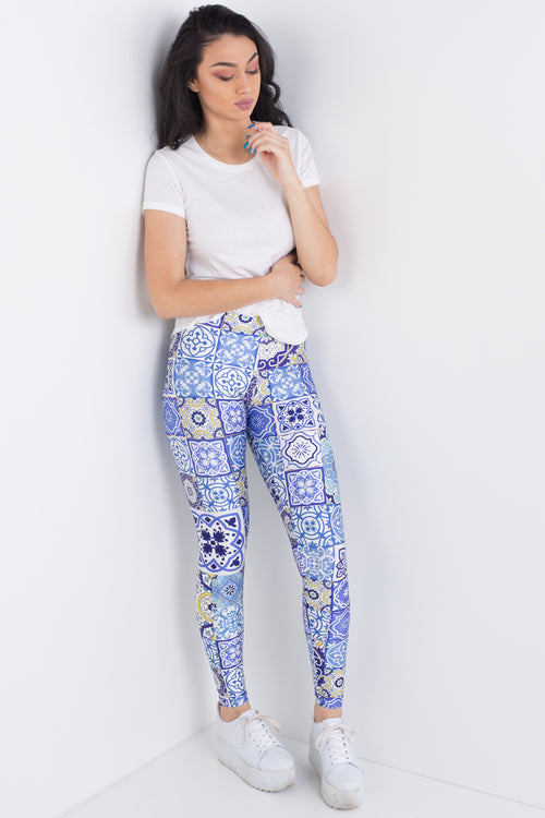 Tiled Leggings