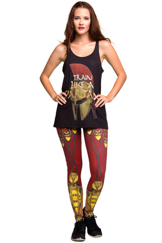 Living Dead 3/4 Tights