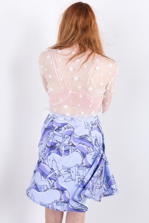 Unicorn Magic Skater Skirt