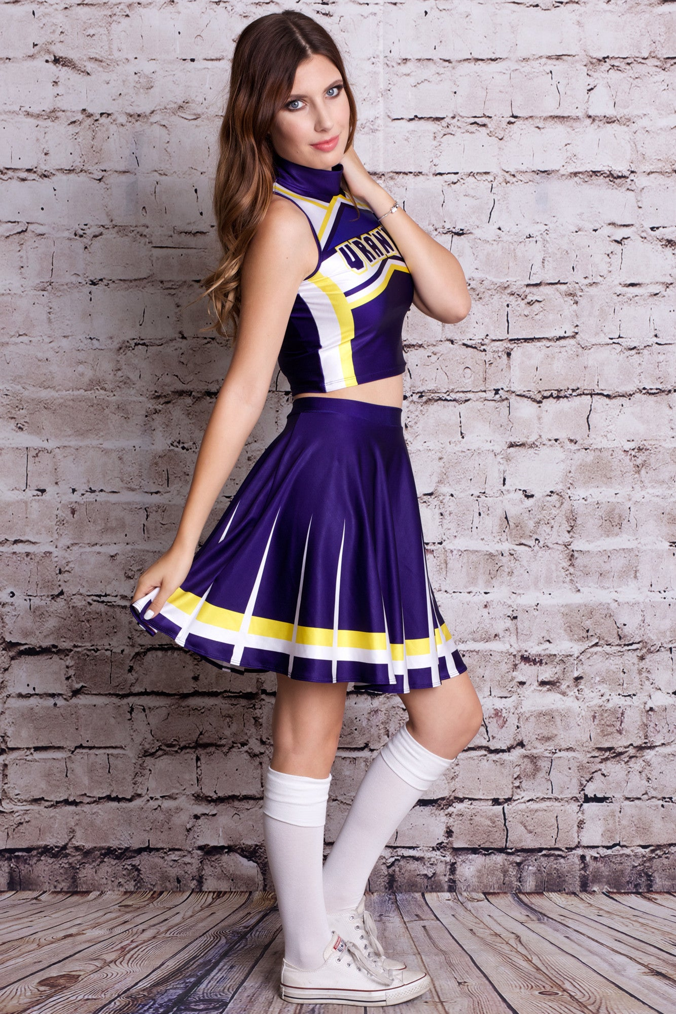 Uranus Cosplay Cheerleader Uniform