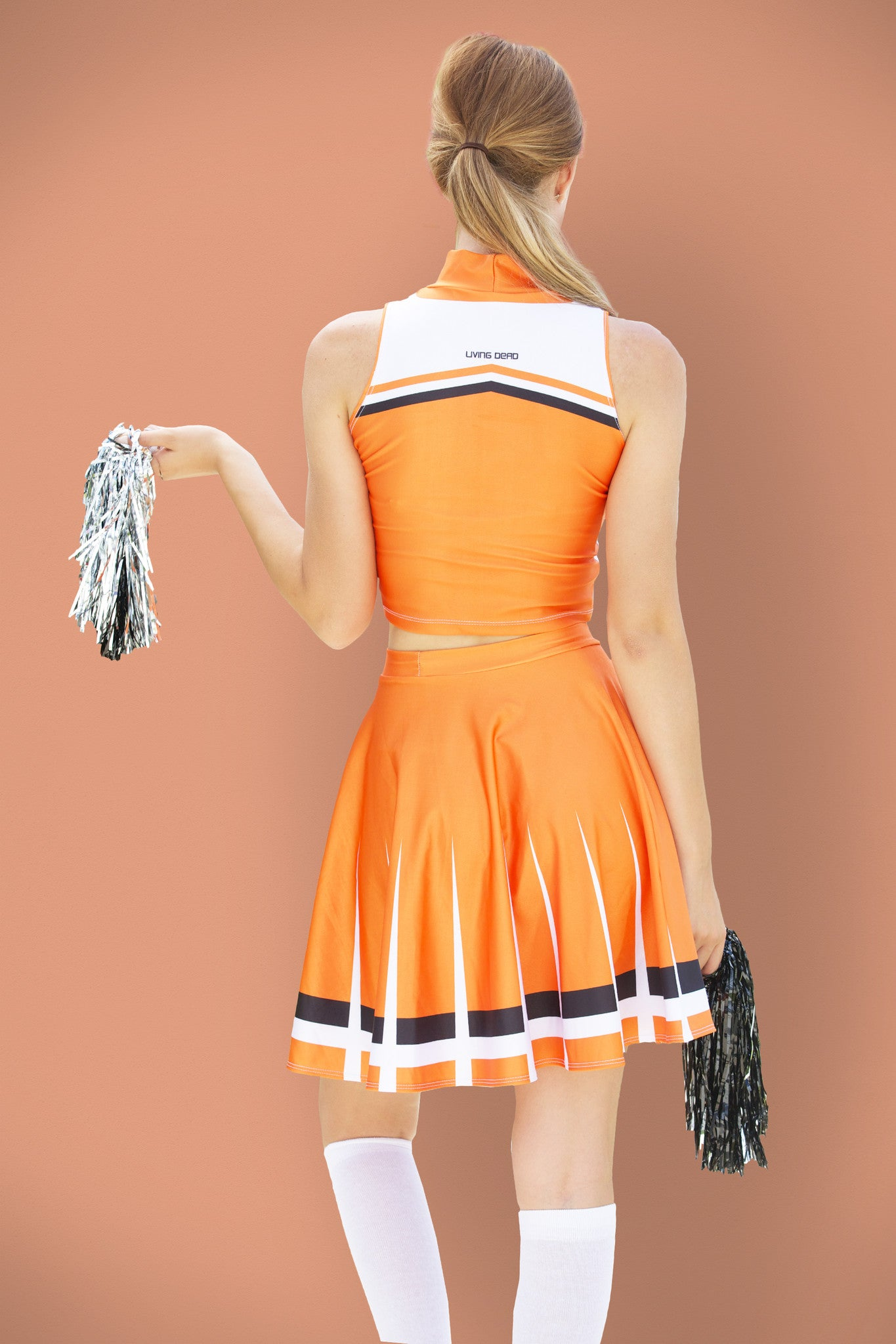 Sailor Venus Cosplay Cheerleader Uniform