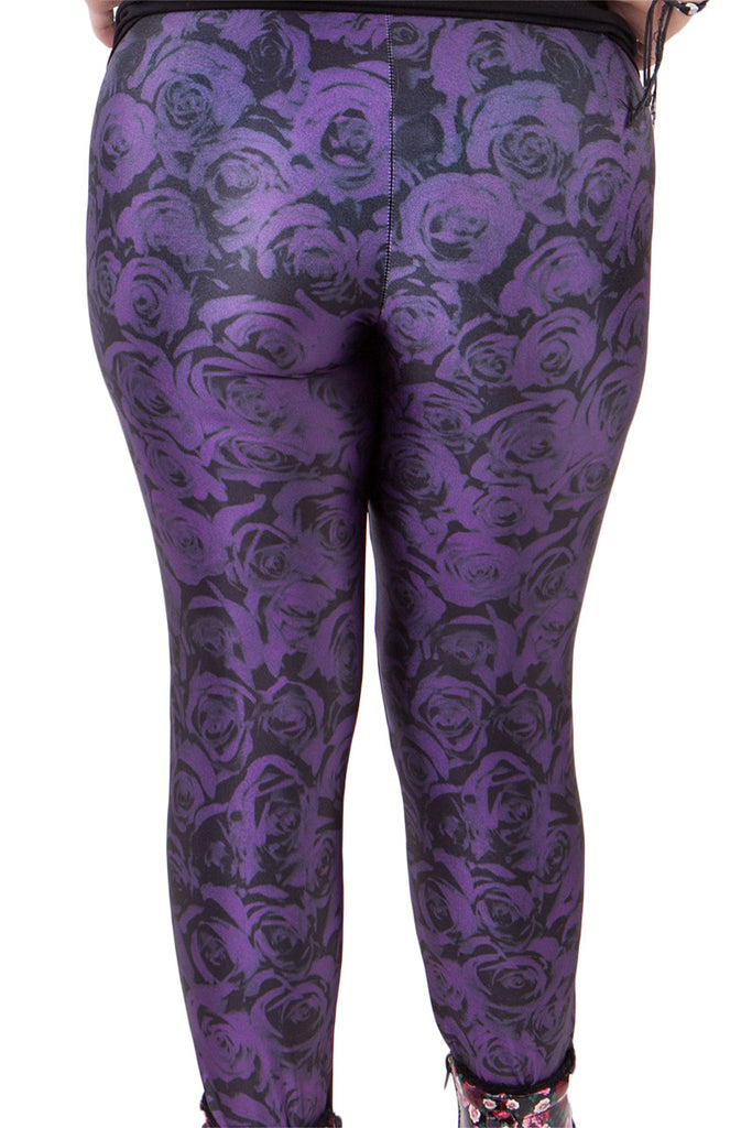 Violet Rose Leggings - LIMITED