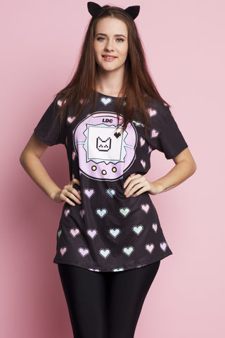 Kawaii Emoticons Happy Hour Dress