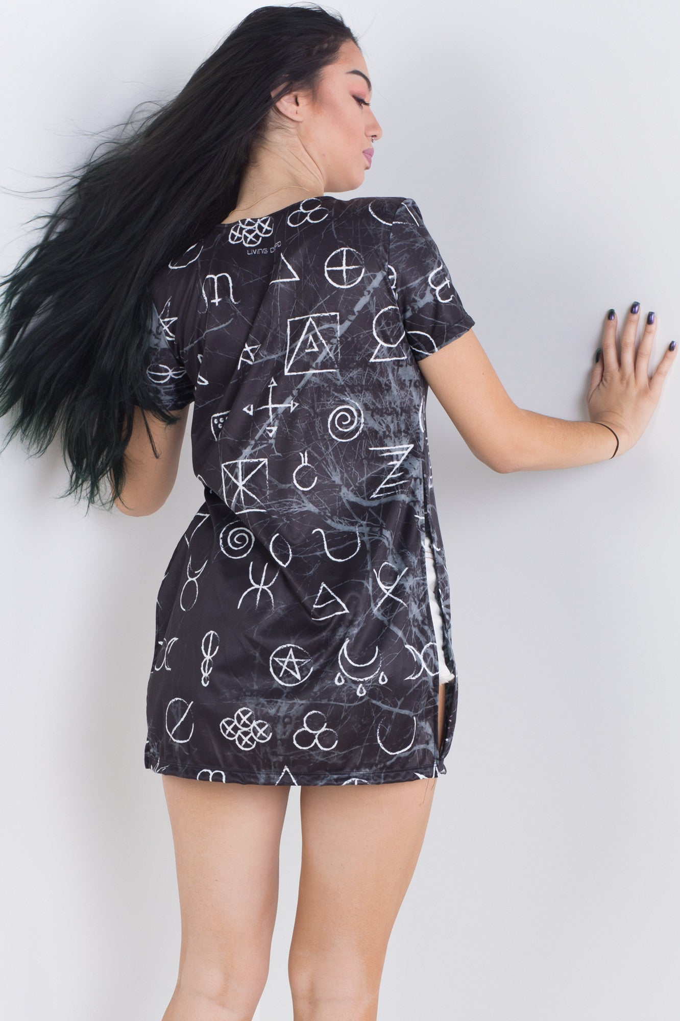 Wicca Side Split Tee
