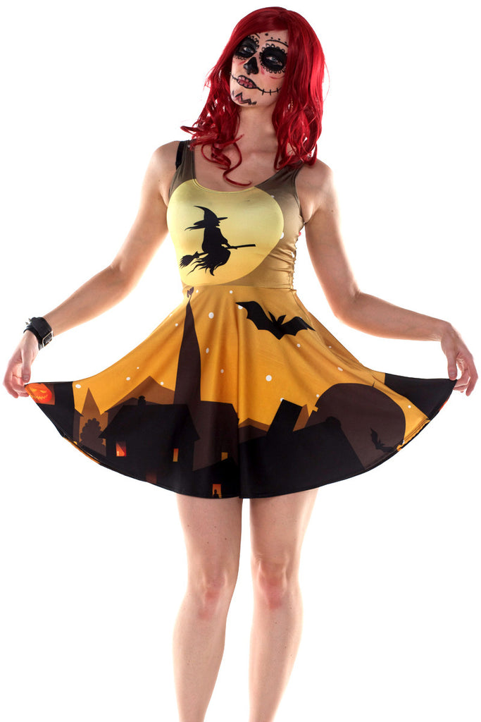 Wicked Witch Skater Dress - Limited