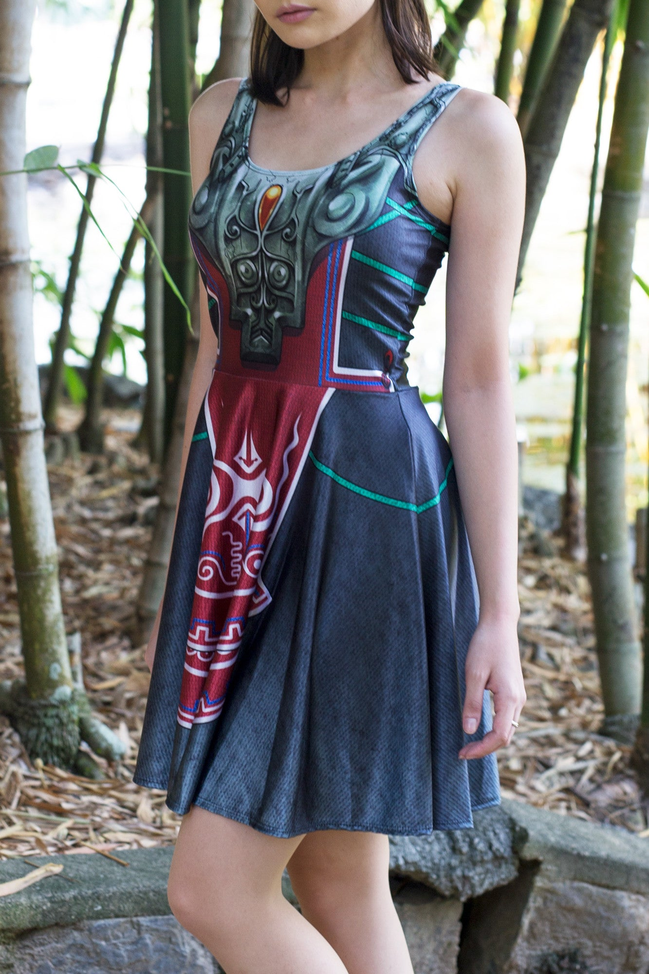 Zant Cosplay Skater Dress